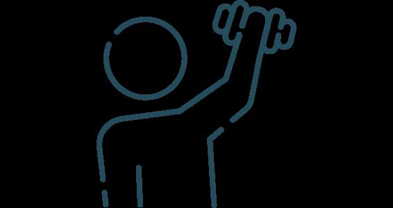 Sports Rehabilitation Icon
