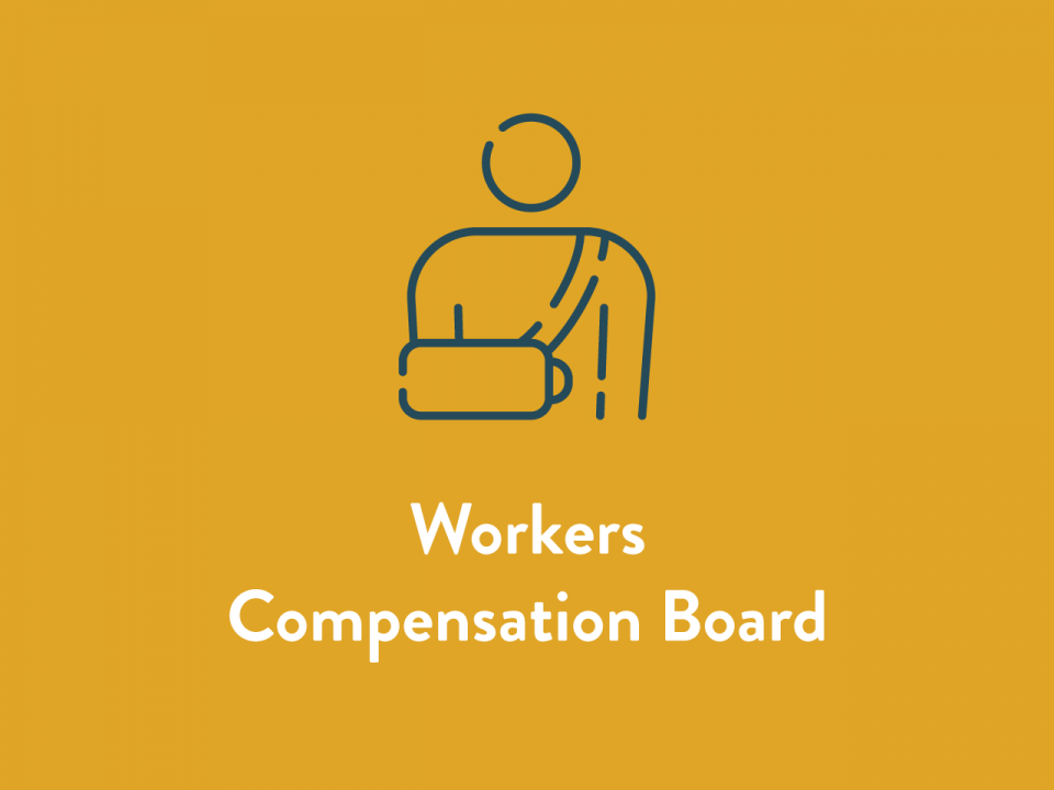 Workers Compensation Board Icon